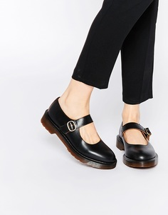 Туфли Мэри Джейн на плоской подошве Dr Martens Archive Indica - Черный