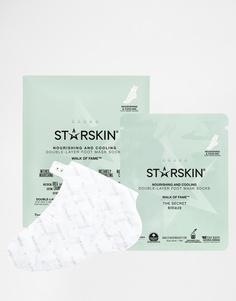 Питательные и охлаждающие маски для ног Starskin Walk Of Fame - Walk Of Fame