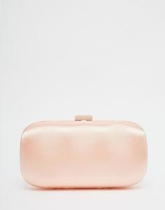 Атласный клатч для подружки невесты ASOS Co-ord - Peach