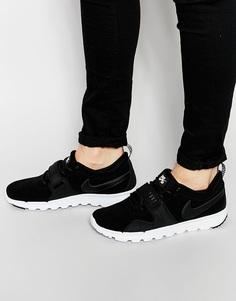 Кожаные кроссовки Nike Sb Trainerendor 806309-002 - Черный