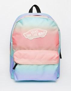 Рюкзак в пастельную полоску с эффектом омбре Vans - Мульти