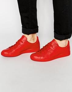 Кроссовки с логотипом Armani Jeans - Красный