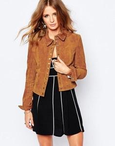 Замшевая куртка в стиле вестерн Millie Mackintosh - Рыжий