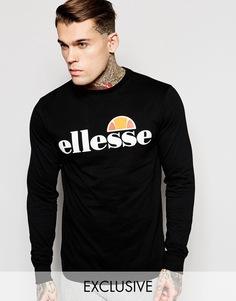 Лонгслив Ellesse - Черный