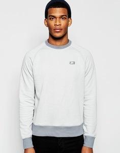 Свитшот с логотипом-прямоугольником Nike 727393-100 - Белый