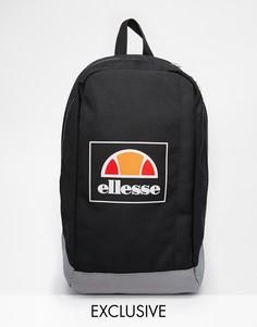 Рюкзак с логотипом Ellesse Box эксклюзивно для ASOS - Черный