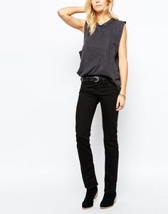 Прямые джинсы с классической талией Levis 714 - Черный Levi's®