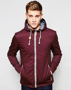 Куртка с капюшоном и завязкой Brave Soul - Красный