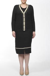 Комплект: юбка, блузка, жакет Elisa Fanti