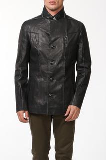 Куртка кожаная Alfredo Galliano