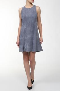 Платье замша Balenciaga