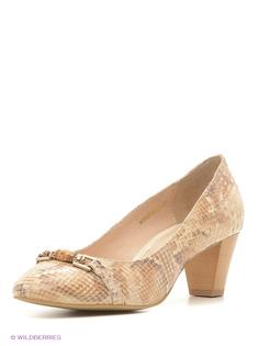 Бежевые Туфли Moda Donna