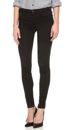 Роскошные атласные джинсы-суперскинни 485