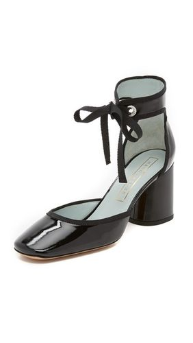 Туфли-лодочки с ремешком на щиколотке Elle
