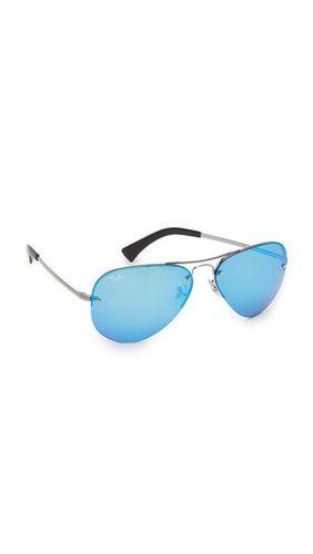 Зеркальные солнцезащитные очки-авиаторы Highstreet