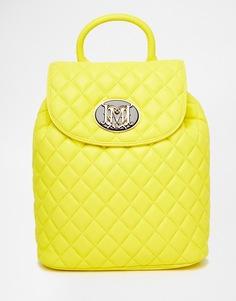 Стеганый рюкзак Love Moschino - 0