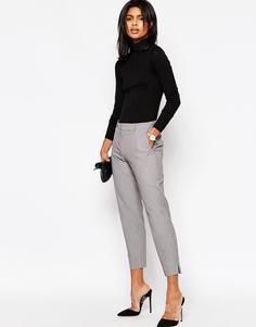 Укороченные брюки слим ASOS - Серый