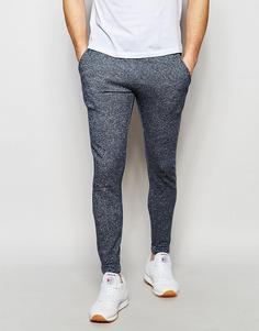 Облегающие спортивные штаны Jack & Jones - Темно-синий