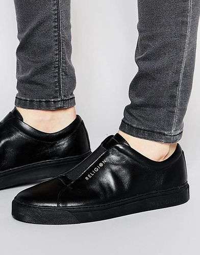 Кожаные кроссовки Religion - Черный