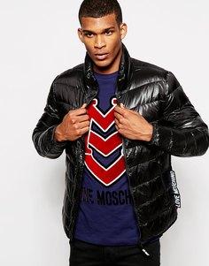 Дутая куртка Love Moschino - Черный