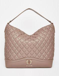 Стеганая сумка на плечо Love Moschino - 0