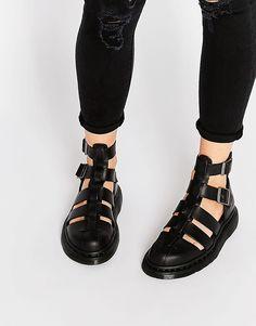 Гладиаторские сандалии Dr Martens Shore - Черный