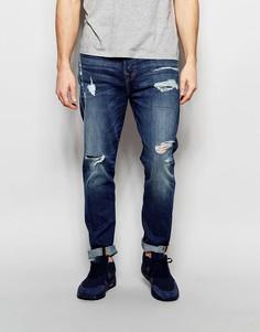 Состаренные джинсы с прорехами True Religion Mick - Worn flagstone