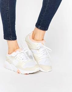 Бежевые кроссовки Puma Blaze Trinomic - Бежевый