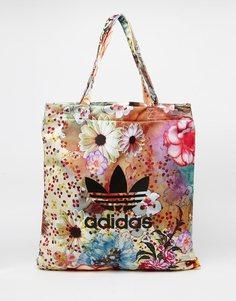 Сумк-шоппер с цветочным принтом Аdidas Originals x Farm - Цветной Adidas