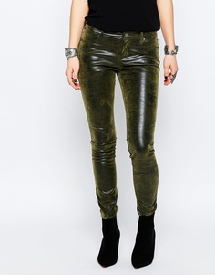 Камуфляжные зауженные джинсы Blank NYC - Мозговая атака