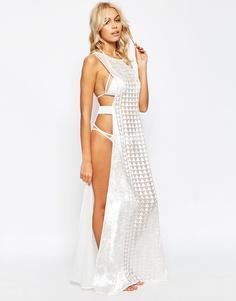 Пляжное платье макси ASOS - Белый
