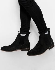 Замшевые ботинки челси Bellfield - Черный