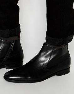 Ботинки на молнии HUGO by Hugo Boss C-Squaboot - Черный