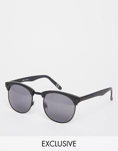 Солнцезащитные очки в стиле ретро Vans Wayde - Черный