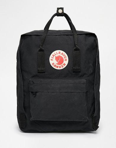 Классический черный рюкзак Fjallraven Kanken - Черный