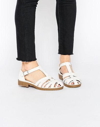 Туфли на плоской подошве ASOS MANSION - Белый