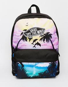 Рюкзак с принтом заката Vans - Мульти