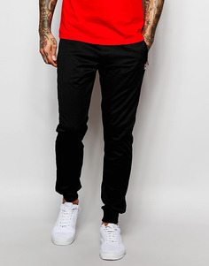 Зауженные спортивные штаны с манжетами Fila Vintage - Черный