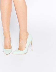Светло-зеленые туфли‑лодочки Lost Ink Cerys - Зеленая мята