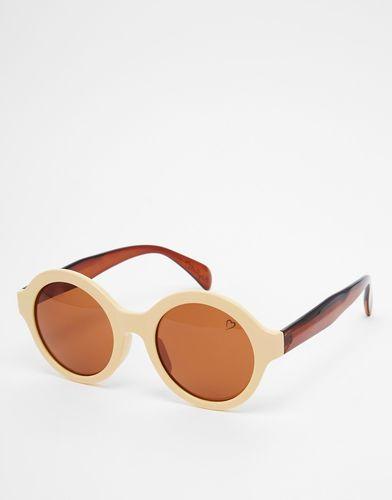 Круглые солнцезащитные очки Ruby Rocks - Желтый