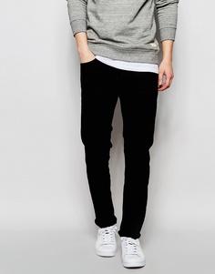 Узкие черные джинсы WeSC Alessandro - Черный
