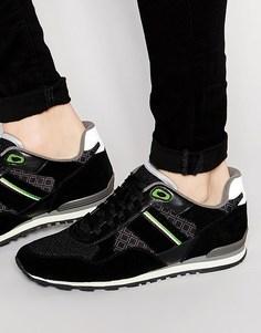 Беговые кроссовки Boss Green Run Cool - Черный