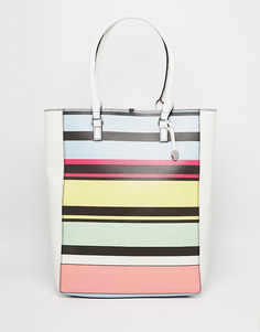 Сумка-тоут Fiorelli Trixie - Мягкие разноцветные полоски