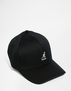 Шерстяная бейсболка Kangol - Черный
