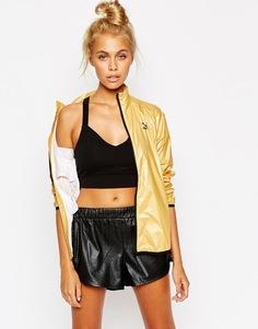 Ветровка цвета металлик Puma Gold Collection - Золотой