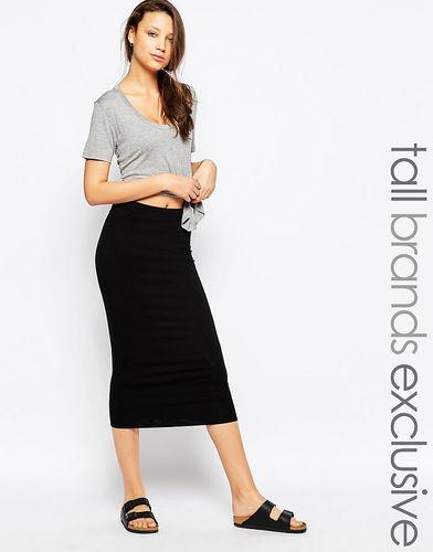 Узкая юбка миди TTYA - Черный