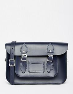 Сумка сатчел The Leather Satchel Company - Синий