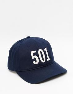 Синяя бейсболка Levi's 501 - Темно-синий Levi's®