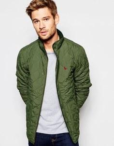 Стеганая куртка Jack Wills - Racing green