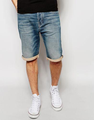 Джинсовые шорты True Religion - Синий